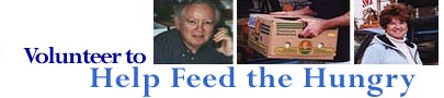Volunteer to Help Feed the Hungry